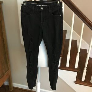 Old Navy rock star skinny jeans. Size 4